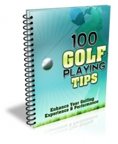 100 Golf Playing Tips Private Label Rights