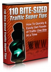 110 Bite-Sized Traffic Super Tips Private Label Rights