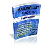 Mailing List Profits : 2nd Edition Private Label Rights