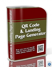 QR Code & Landing Page Generator Private Label Rights