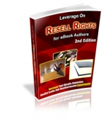 Leverage On Resell Rights : 2nd Edition Private Label Rights