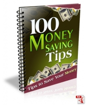 100 Money Saving Tips Private Label Rights