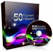 Graphics Ease 50 eCovers & Headers Private Label Rights