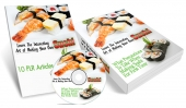 Making Your Own Sushi Private Label Rights