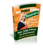 Info Product Creation Strategies Private Label Rights