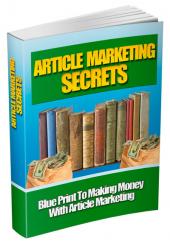 Article Marketing Secrets Private Label Rights