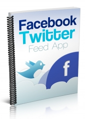 Facebook Twitter Feed App Private Label Rights