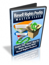 Resell Rights Profits Master Class Private Label Rights