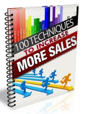 100 Techniques to Increase More Sales Private Label Rights