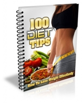 100 Diet Tips Private Label Rights