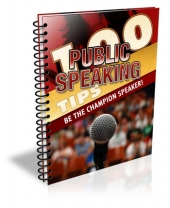 100 Public Speaking Tips Private Label Rights