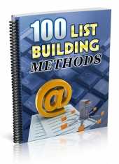List Building Methods Private Label Rights