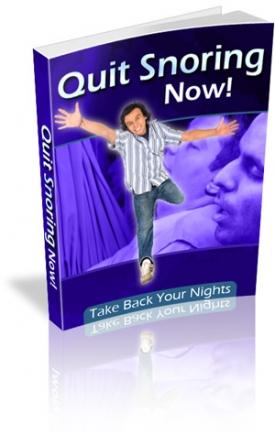 Quit Snoring Now!