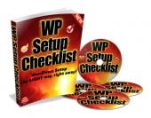 WP Setup Checklist Private Label Rights