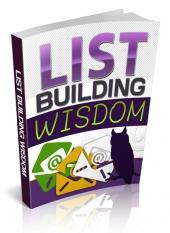 List Building Wisdom Private Label Rights