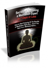 Secrets of Becoming a Meditation Expert Private Label Rights