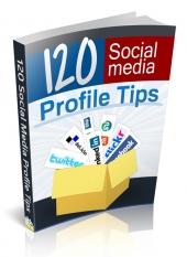 120 Social Media Profile Tips Private Label Rights