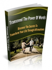 Transcend The Power Of Words Private Label Rights
