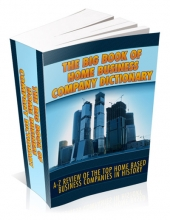 The Big Book Of Home Business Company Directory Private Label Rights