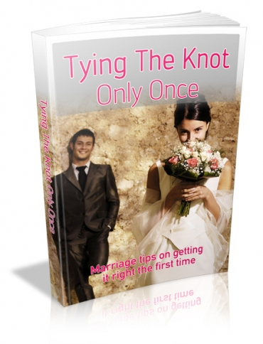Tying The Knot Only Once