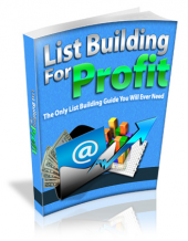 List Building For Profit Private Label Rights