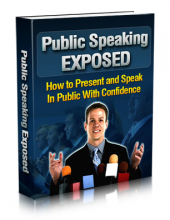 Public Speaking Exposed Private Label Rights