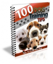 100 Dog Training Tips Private Label Rights