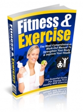 Fitness & Exercise Private Label Rights