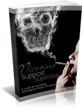 Nicotine Support Superstar Private Label Rights