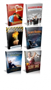 6 Pack Of PLR Ebooks Private Label Rights