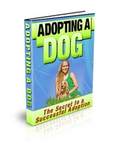 Adopting a Dog - PLR Private Label Rights