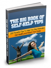 The Big Book of Self-Help Tips Private Label Rights