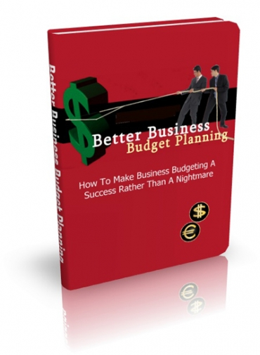 Better Business Budget Planning