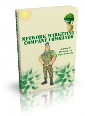 Network Marketing Company Commando Private Label Rights