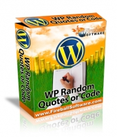 WP Random Quotes or Code Private Label Rights