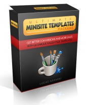 Ultimate Minisite Templates Private Label Rights