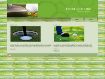 Golf Templates 1