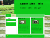 Golf Templates 2 Private Label Rights