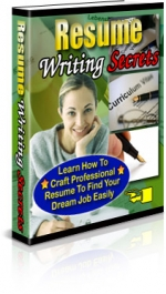 Resume Writing Secrets Private Label Rights