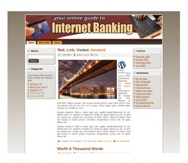 Internet Banking Templates