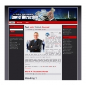 Law Of Attraction Templates Private Label Rights
