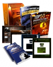 Halloween Super Pack Private Label Rights