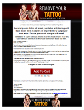 Tattoo Removal Template Private Label Rights