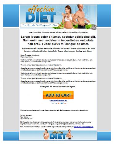 Effective Diet Template