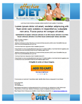 Effective Diet Template Private Label Rights