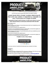 CPA Annihilation Template Private Label Rights