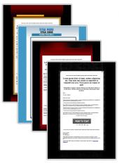 8 Minisite Templates Private Label Rights