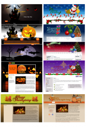Seasonal WordPress Theme Pack Private Label Rights