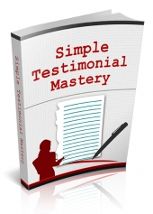 Simple Testimonial Mastery Private Label Rights