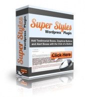 Super Styles WordPress Plugin Private Label Rights